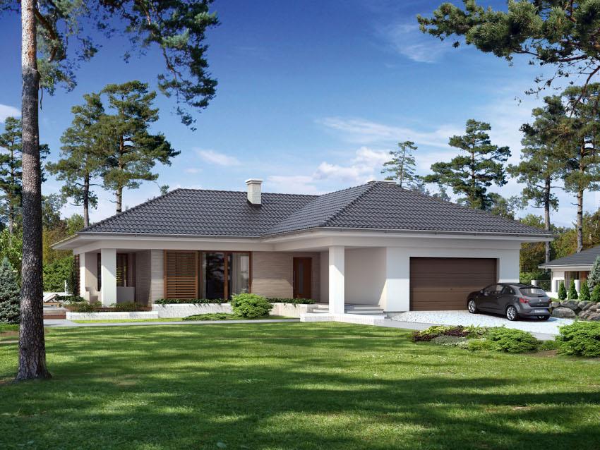 Projekt domu aksamit