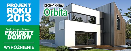 projekt domu Orbita