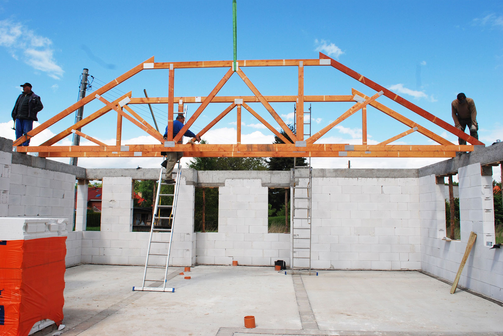 Aktualne Projekt domu od podszewki, czyli jakich materiałów używamy KK99