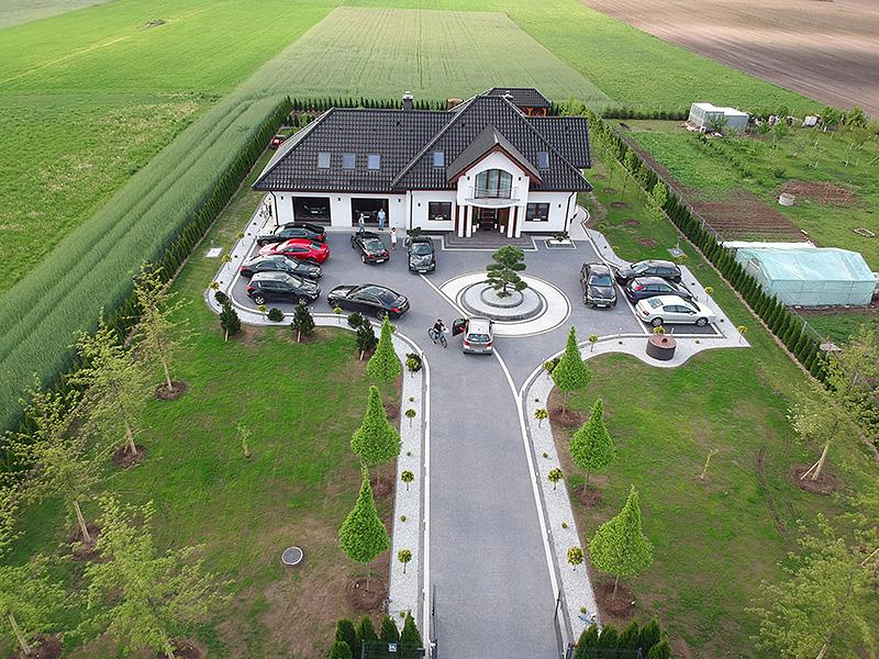 zdjęcia z realizacji projektu domu Allegro 2