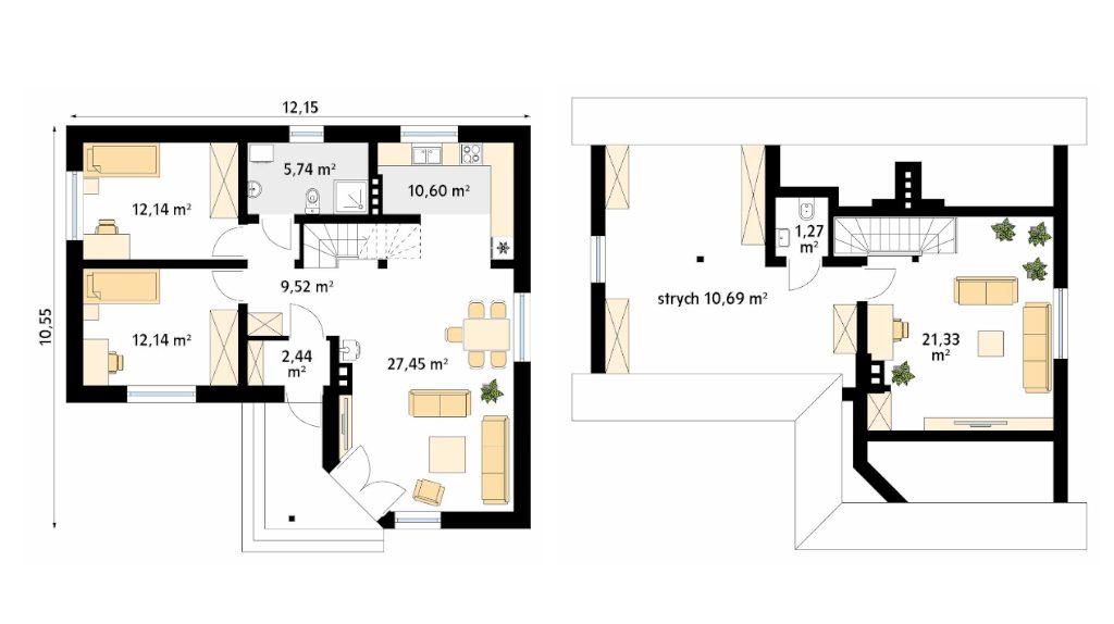 Projekt domu SZYPER 11
