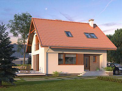 Projekty domów małych do 100m²