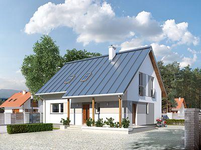 Projekty średnich domów od 100m² do 140m²