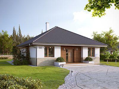 Projekty Domów Parterowych Bez Garażu Domy W Stylu