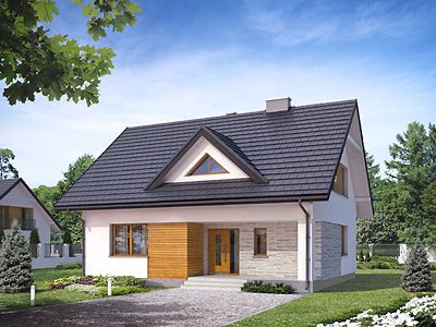 Projekty Domów Z Piwnicą Z Poddaszem Bez Garażu Domy W Stylu