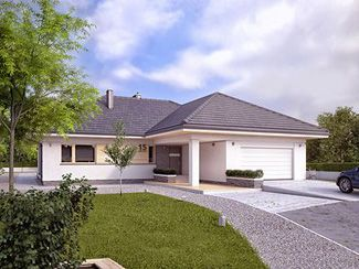 Projekty Domow Najczesciej Kupowanych Domy W Stylu