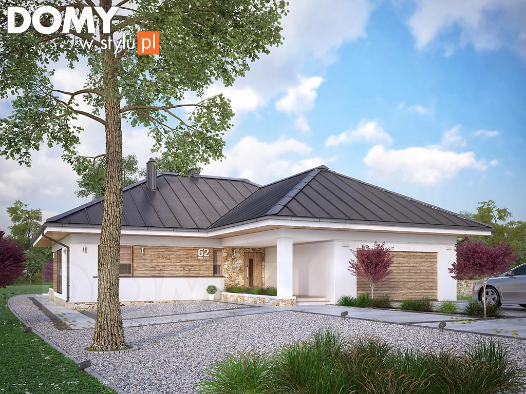 ambrozja 8 projekt domu jeste my autorem domy w stylu. Black Bedroom Furniture Sets. Home Design Ideas