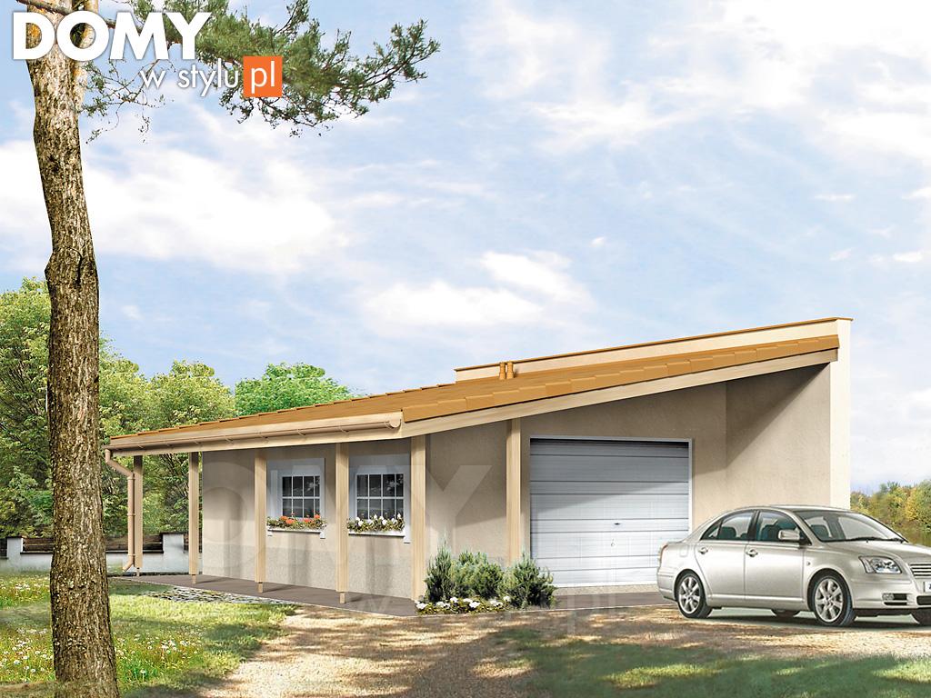 Garaż G11 Projekt Garazu Jesteśmy Autorem Domy W Stylu
