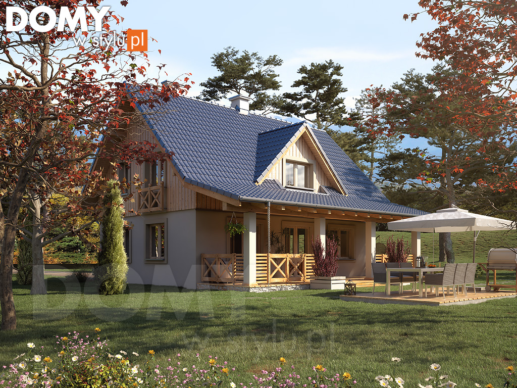 malinowy projekt domu jeste my autorem domy w stylu. Black Bedroom Furniture Sets. Home Design Ideas